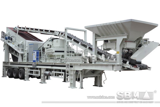 Combined Crushing Plant spot