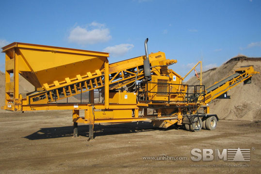 Combined Crushing Plant details