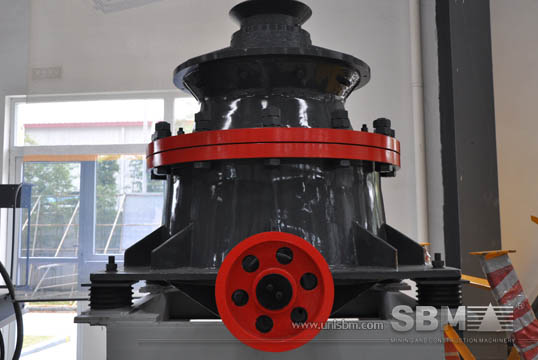HCS90 cone crusher pictures from SBM