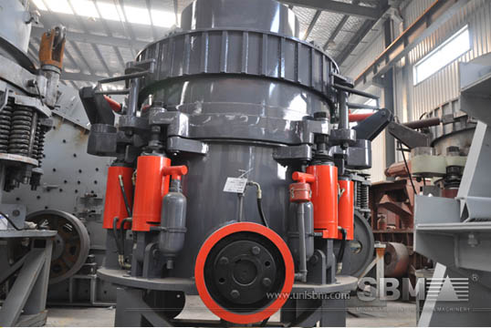 Hydraulic cone crusher pictures from SBM