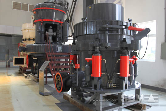 Hydraulic cone crusher gallery