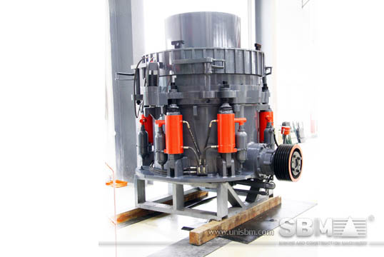 Hydraulic cone crusher pictures