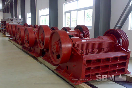 JC Jaw crusher gallery