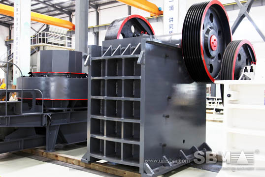 Jaw crusher gallery