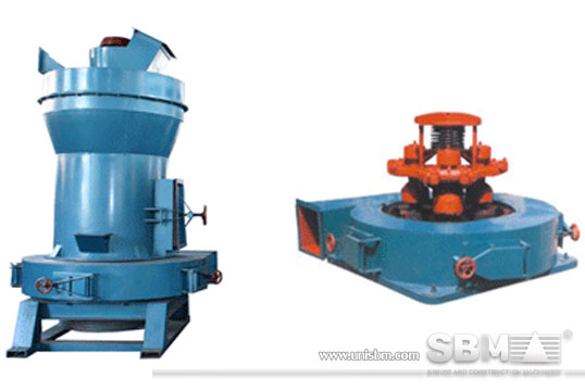 YGM high pressure grinding mill picture