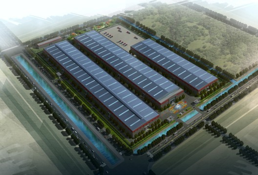 The new manufacturing base in Qidong