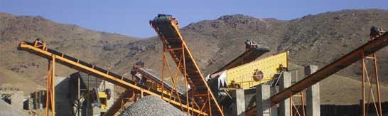 stone crushing plant of 150 - 200 TPH