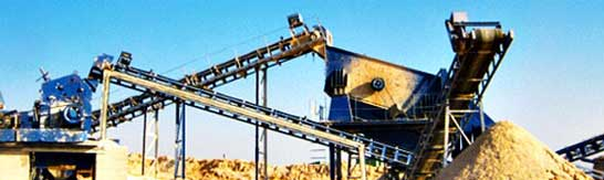 stone crushing plant of 80 - 120 TPH