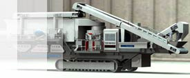 YGD mobile cone crusher picture