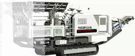 YG mobile impact crusher picture