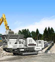 YG series mobile jaw crusher