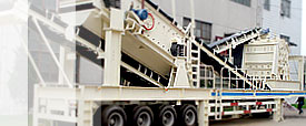 Y3S portable impact crusher plants