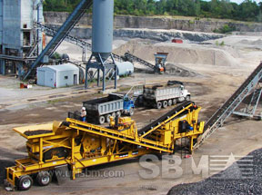 Closed circuit crushing plant project
