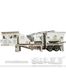 Y3S series portable combined crusher