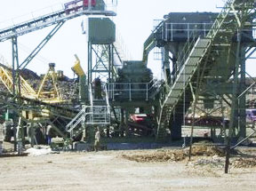 HCS90 cone crusher project