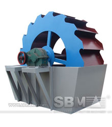 sand washing machine design