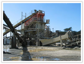 gold ore crushing, screening plant in Algeria