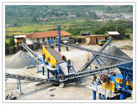 highway stone crushing plant