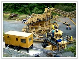 mining equipment for crushing, screening