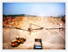 quarry mining and crushing plant in Peru