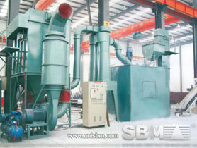 kaolin grinding plant