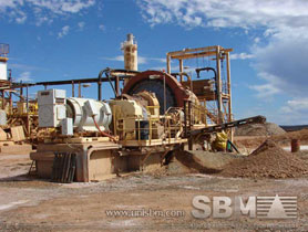 gold ore grinding plant