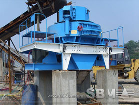 VSI crusher for manufactured sand production