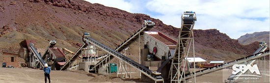 100 TPH iron ore process plant